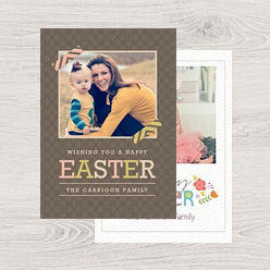 example of our easter greetin card templates
