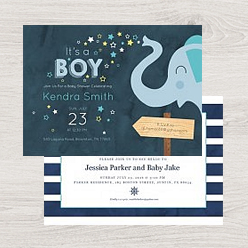 an example of our baby shower card templates