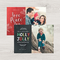 an example of our holiday greeting cards