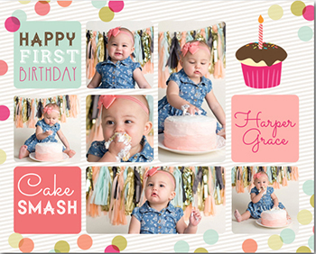 happy cake smash