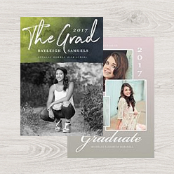 an example of our graduation greeting card templates