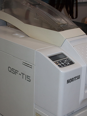 the noritsu c-41 machine we develop film with